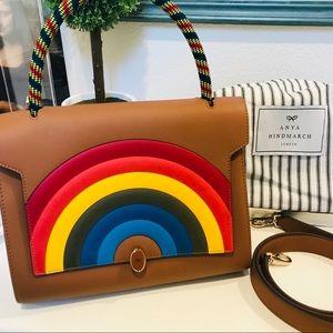 Anya Hindmarch rainbow purse